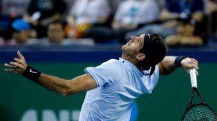 Del Potro le ganó a Rublev y avanza en Shangai, mientras que Schwartzman enfrenta a Federer