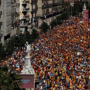 tension y presiones ante el posible anuncio de la independencia de cataluna