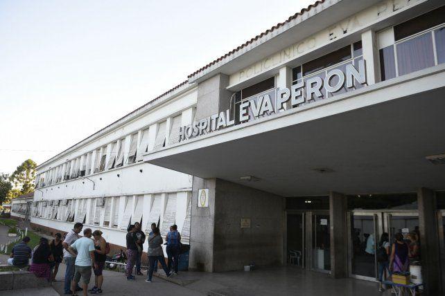 Las víctimas de los dos accidentes fueron derivadas al Hospital Eva Perón.
