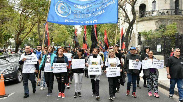 Piden apartar a la fiscal Bartocci por desestimar denuncias de violencia institucional
