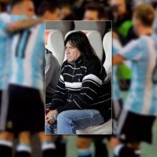 La imagen del brujo platense, quien supo acompañar al plantel de Estudiantes.