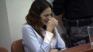 Julieta Silva se quebró durante la audiencia.