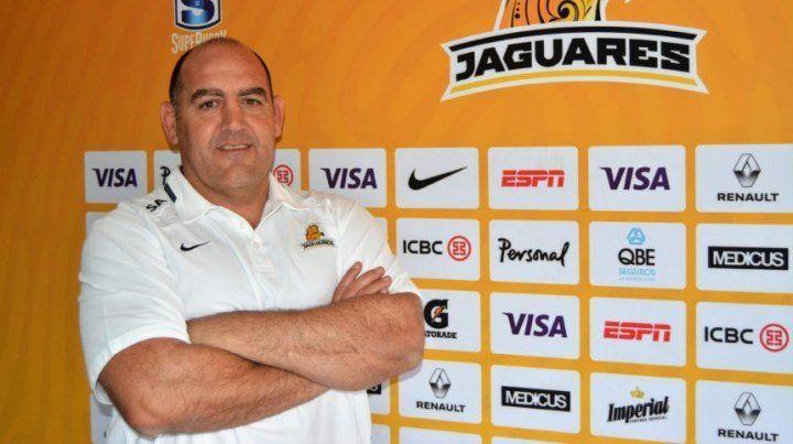 El exhooker comandará la franquicia argentina en el torneo Súper Rugby 2018.