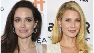 revelaciones. Angelina Jolie y Gwyneth Paltrow se animaron a hablar.