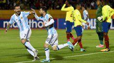 Messi puso a Argentina en el Mundial 2018.