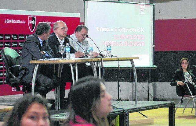 Asamblea. La comisión directiva espera que los socios voten por la aprobación del ejercicio 2016-2017.