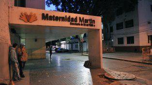 Mamá y bebé están internados en buen estado en la Maternidad Martin.