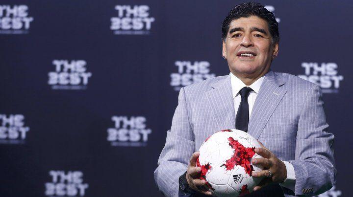 Maradona celebró que la selección argentina sigue manteniendo el respeto del mundo