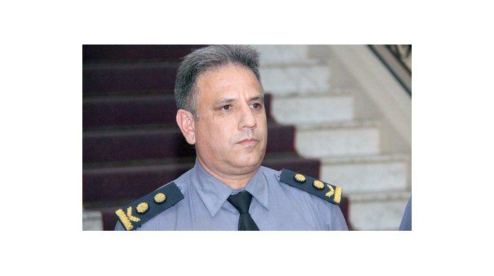 Comisario Adrián Rodríguez.