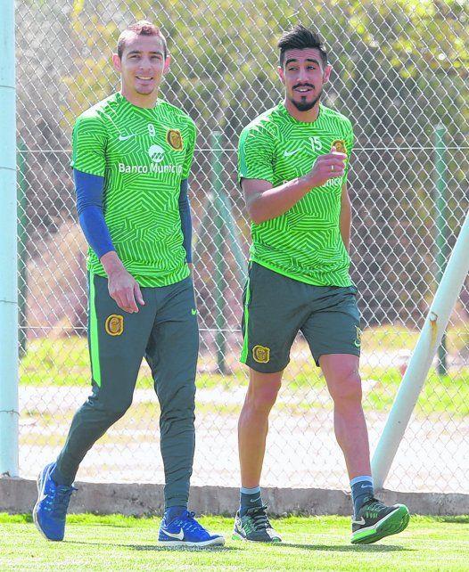 Dos tipos audaces. Ruben y Camacho