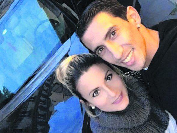 Jorgelina y un mimo para Angelito