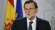 firme. Rajoy le dio un plazo perentorio a Puigdemont para eliminar todo vestigio de independencia.