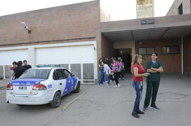 La víctima fue derivada en primera instancia al hospital Gamen.