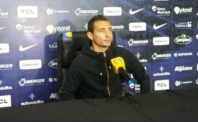 El capitán auriazul sostuvo que ya está para volver al equipo.