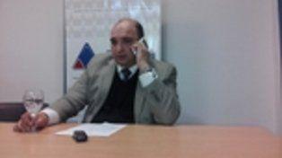 fiscal. Roberto Apullán lleva adelante la investigación contra Rodríguez.