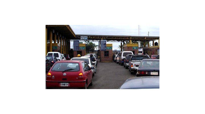 Aduana en Posadas-Encarnación.