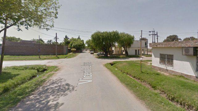 La esquina de Charcas y Vicente López donde fue encontrado el feto. (Foto: Captura de Street View)
