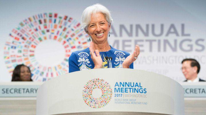 Amigos. El organismo que conduce Lagarde pide un poco más de ajuste.