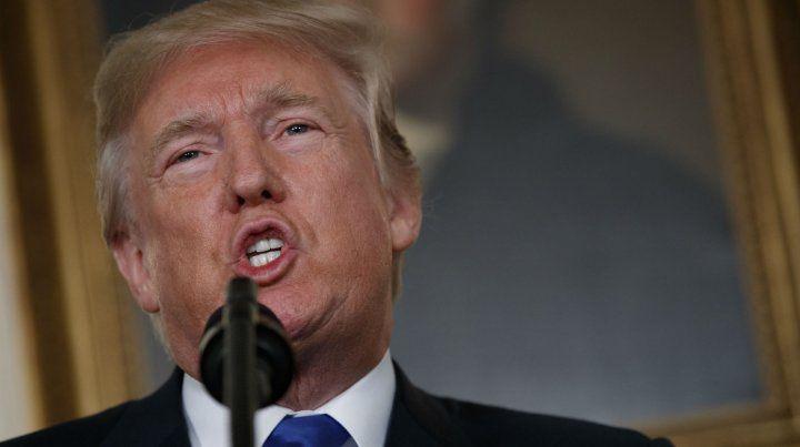 Frontal. Para Trump el acuerdo es uno de los peores firmados por EEUU.
