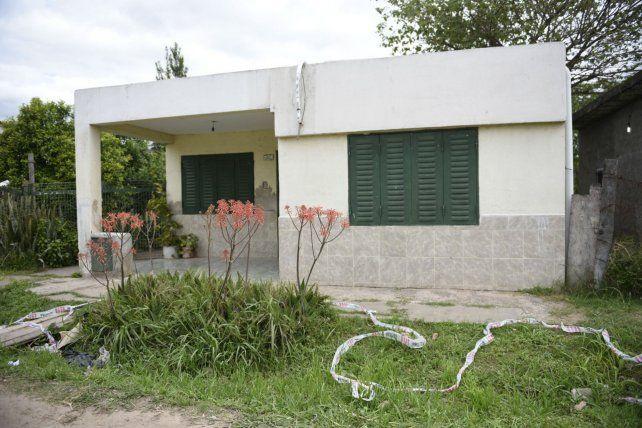 Sencilla. La casa donde vivió y murió don Oscar Vicente Legal.
