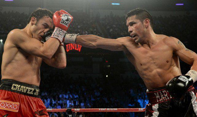 Maravilla se recibió de héroe nacional cuando ganó el título ante Julio César Chávez junior