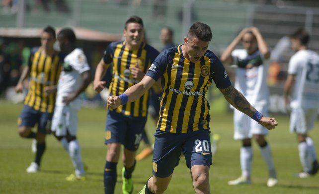 Grito de goleador. Fernando Zampedri seguirá de titular como compañero de Ruben en ataque.