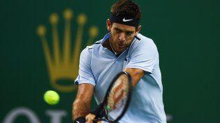 Del Potro enfrenta a Federer en el Masters 1000 de Shanghai