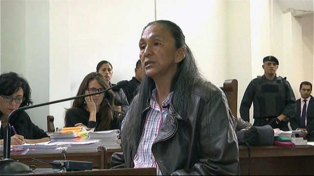 La líder de la organización Tupac Amarú