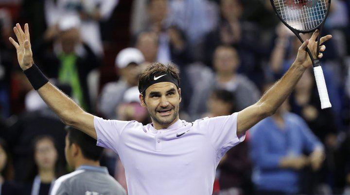 Federer superó a Del Potro sin mayores inconvenientes y pasó a la final de Shanghai.