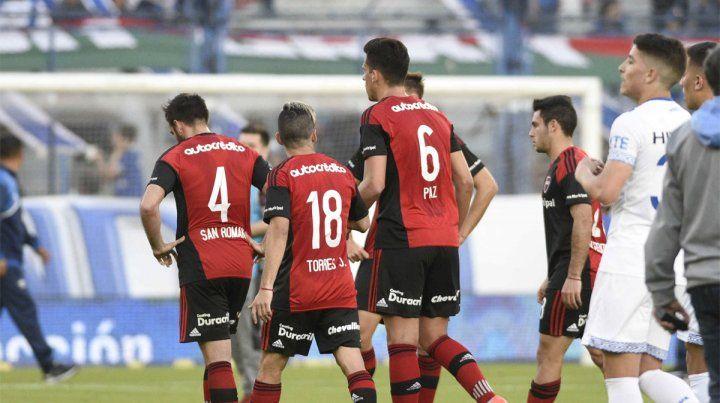 Racha negativa. La Lepra acumula seis derrotas al hilo y convirtió poco en la Superliga.