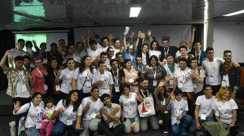 Más de 230 jóvenes de todo el país participan del encuentro que se está desarrollando en Rosario.