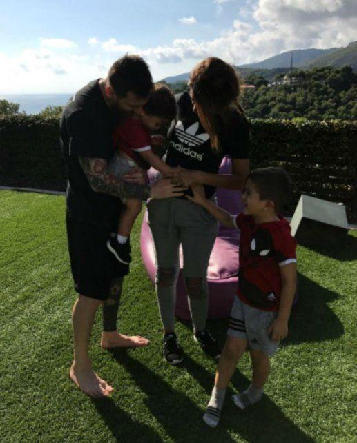 Messi será papá por tercera vez y Antonela dio la noticia en su cuenta de Instagram