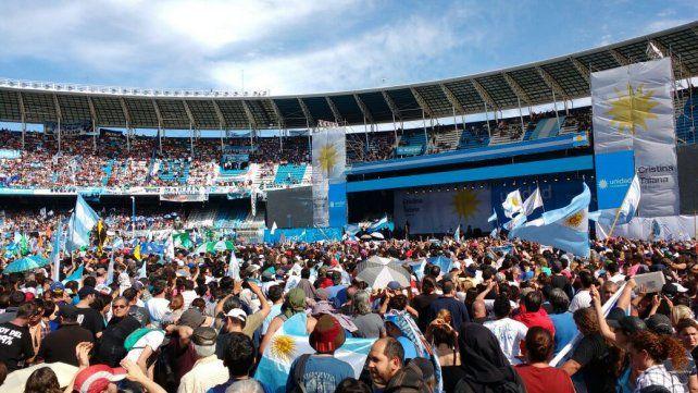 La imagen del estadio de Racing