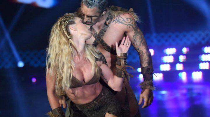 Rocío Guirao Díaz y Nicolás Paladini hicieron arder la pantalla lookeados como vikingos