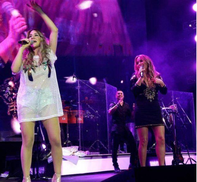 El éxito de La Tonta reunió a la Princesita Karina y Jimena Barón que la rompieron en el Luna Park