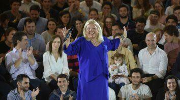 La candidata a diputada nacional celebró el pedido de desafuero y posterior detención de Julio De Vido.