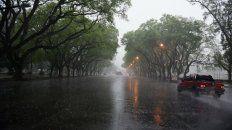 el sur y centro de santa fe esta bajo alerta por tormentas fuertes para manana