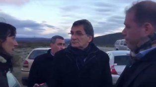 Avruj contó que al llegar a la zona del hallazgo fue increpado por la comunidad mapuche