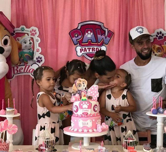 Las fotos del cumpleaños de las hijas de Cinthia Fernández que lo festejó en Ecuador