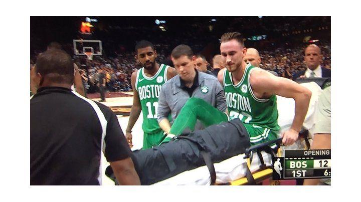 Terrible lesión de una estrella de la NBA