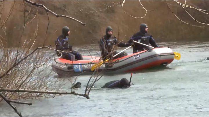 El cuerpo fue hallado tras el rastrillaje de ayer en el río Chubut.