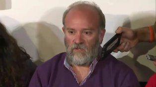 Sergio Maldonado, hermano de Santiago, admitió que no pueden confirmar que el cuerpo sea de Santiago. (Foto: captura de TV)