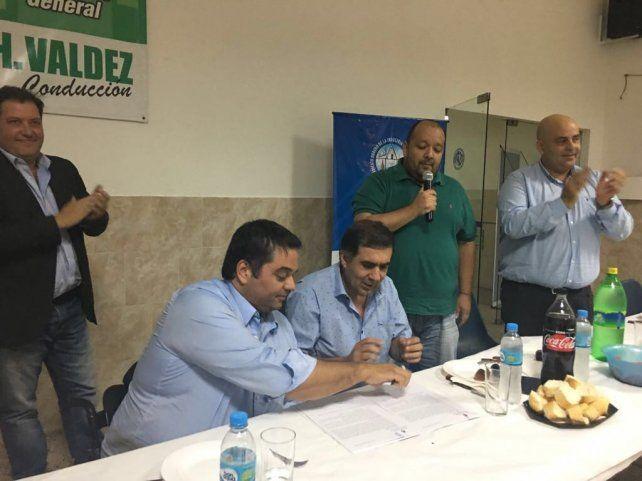 Triaca se reunió en Rosario con empresarios de la Fundación Libertad para abordar el desarrollo de empleo y la actividad económica en la zona.