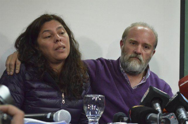 Cautela. Sergio Maldonado pidió paciencia a los medios de prensa por su hermano Santiago.