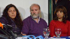 Conferencia de prensa. Se realizó en Esquel y habló el hermano de Santiago Maldonado.
