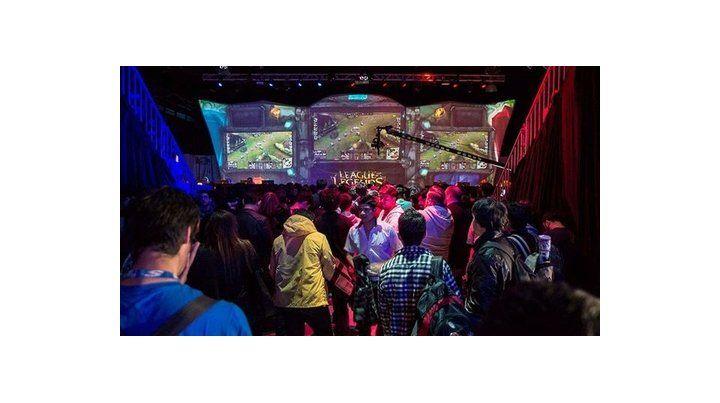 game show. La feria convoca a apasionados de los videojuegos.