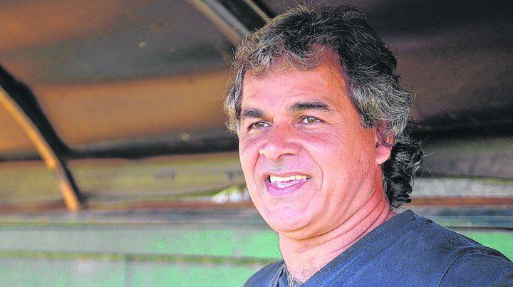 Con una sonrisa de oreja a oreja. Cuffaro Russo está muy contento por haber ganado en el Gabino Sosa por primera vez en el torneo. Estábamos en deuda con la gente