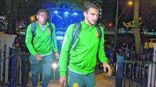 Firme. Maxi González busca su lugar en el equipo pese al poco rodaje que tiene desde que volvió al club.