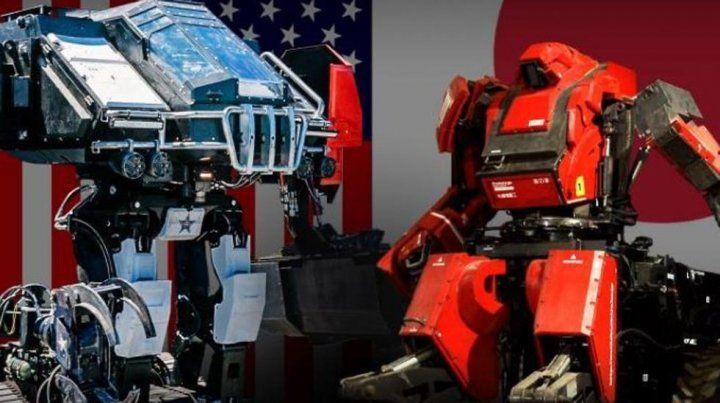 Así fue la épica batalla de robots gigantes entre EEUU: y Japón
