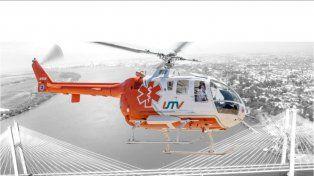 Helicóptero sanitario realizará ejercicios para definir zonas aptas de descenso ante emergencias